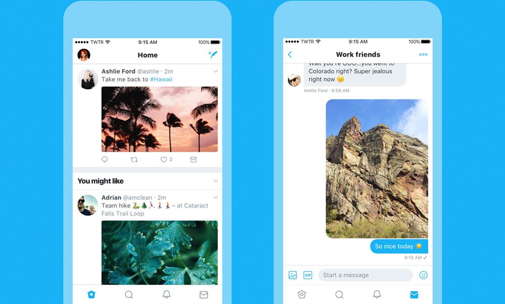 Twitter realiza importantes modificaciones en su última actualización para iOS