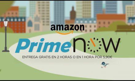 ¿Conoces Amazon Prime Now? ¿A qué estás esperando? Cualquier producto en tu casa en menos de dos horas