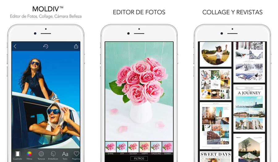 Las mejores aplicaciones para hacer collage de fotografías con tu ...
