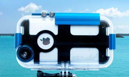 Sumérgete con tu iPhone sin miedo con ProShot Touch
