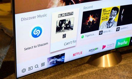 Samsung implementará Shazam en sus Smart TV. Ahora podrás identificar cualquier canción mientras ves tu programa favorito