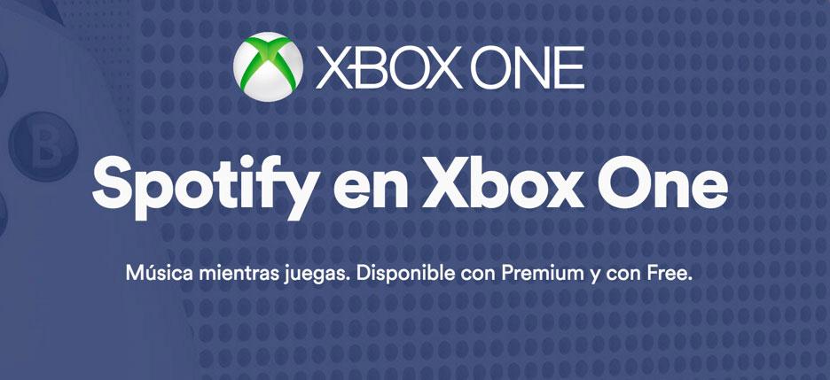Spotify se integra en Xbox One