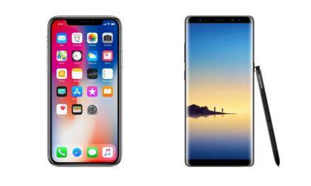 Razones por las que el iPhone X no es rival para el Galaxy Note 8