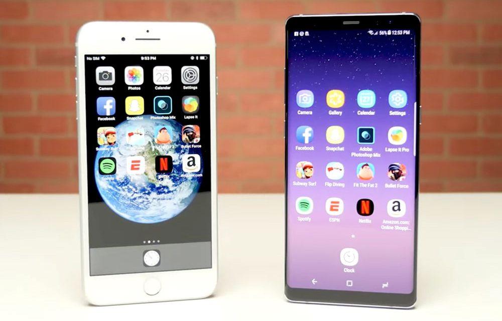 iPhone 8 Plus contra Galaxy Note 8: Preparados, listos, ya… ¿cuál es el más rápido?