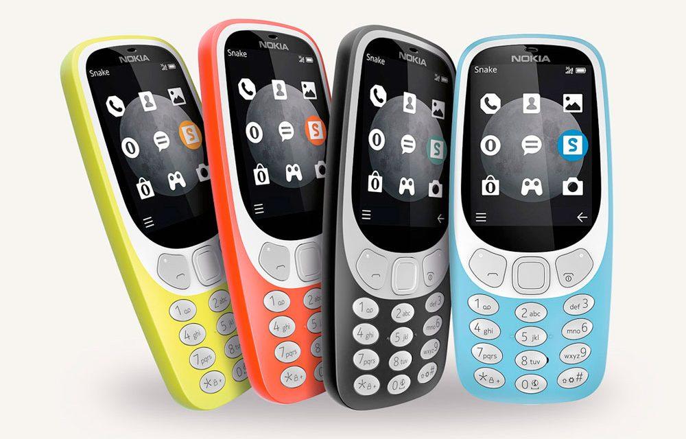 El nuevo Nokia 3310 3G se empezará a distribuir en todo el mundo a partir de mediados de octubre